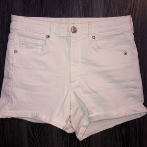 American Eagle super high rise stretchy shorts